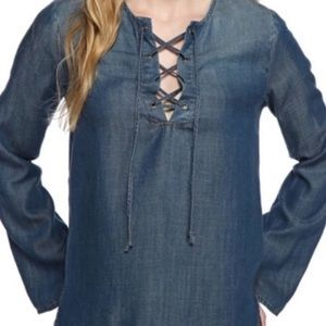Anthropologie Cloth And Stone Bell Sleeve Shirt XS